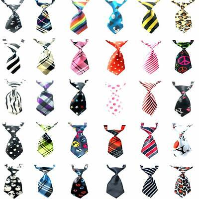 30Pcs Cute Adjustable Grooming Necktie Puppy Kitten Adorable Bow Tie for Dog Cat