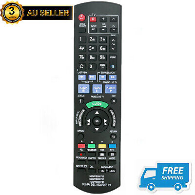 New N2QAYB000757 Remote for Panasonic Blu-Ray Disc Recorder DMRPWT520 DMRPWT530