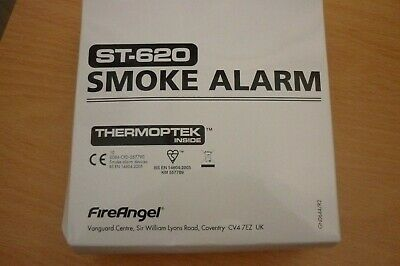 Genuine FireAngel ST-620 Smoke Alarm - New & Sealed