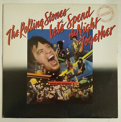 The Rolling Stones Let's Spend The Night Together Laserdisc USA1985