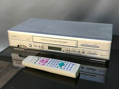 Sharp - VC-H726 - 6 Head Hi-Fi Video Recorder Player - VCR - VHS - with Remote