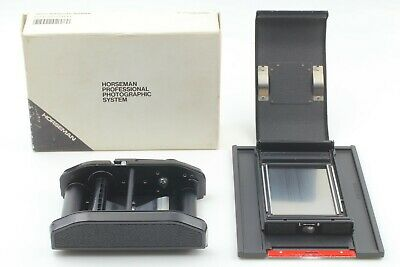 Almost Unused] Horseman 8exp 120 6x9 Roll Film Back Holder 4x5 Camera From Japan