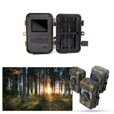 16MP 1080P HD Hunting Trail Camera Wildlife Scouting Cam IR Night Vision IP66