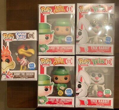 Funko POP! Sonny the Cuckoo Trix Rabbit Lucky the Leprechuan AD ICONS Funko Shop