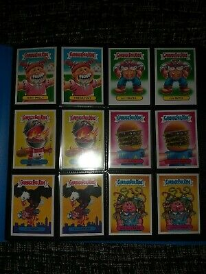 Garbage Pail Kids - American As Apple Pie In Your Face - 220 Stickers - Gpk 2016