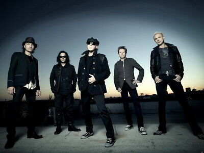 The Scorpions Group Urban New Music Wall Print POSTER AU