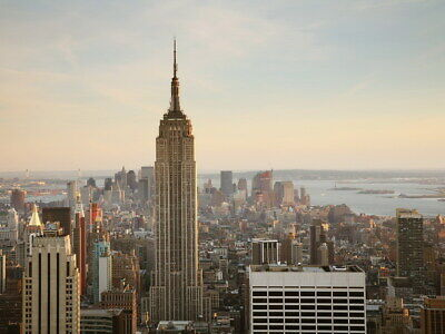 NYC Empire State Building Wall Print POSTER AU