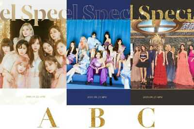 CHOOSE PHOTOCARD+Ver+CD/ TWICE Feel Special+Pre-order Gifts+Tracking+Poster