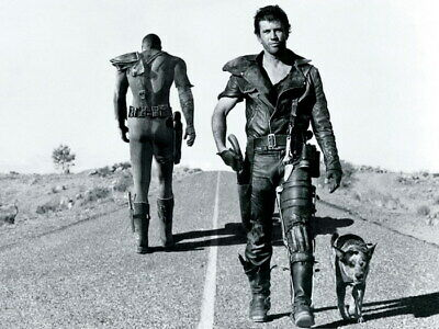 Mad Max Vault Dweller Fallout Mel Gibson BW Action Movie Print POSTER AU