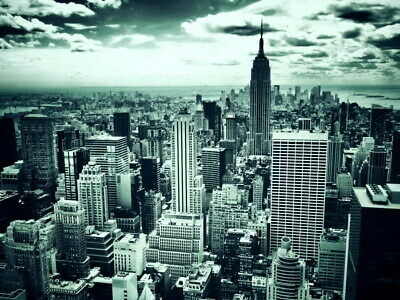 New York City NY Empire State Building Wall Print POSTER AU