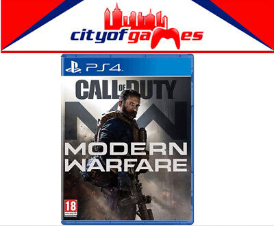 Call of Duty Modern Warfare PS4 Game Brand New & Sealed Pre Order