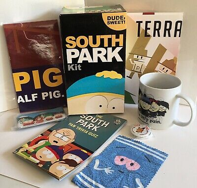 The South Park Collectors Kit Dude Sweet! Mug Book Magnets Posters Pins