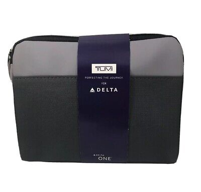 TUMI TRAVEL KIT Delta One Business Class New Sealed with amenities included