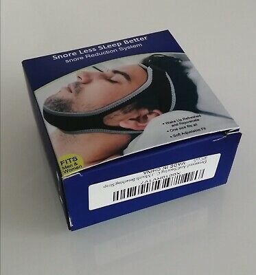 Anti Snore Chin Strap Snore Less Sleep Better Snore Reduction System