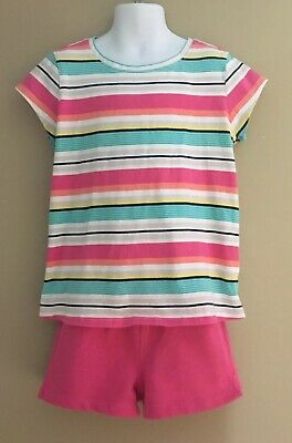 NWT Gymboree girls size 4 4T FAIRY FASHIONABLE pink jeans striped tee /& barrette