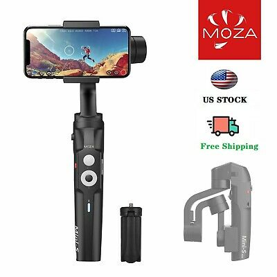 MOZA Mini-S Foldable Handheld 3-Axis Phone Gimbal Stabilizer For Android/iPhone