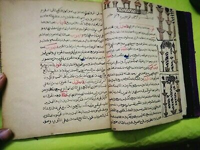Antique Handwritten Arabic Completed Manuscript 200-300 Years Old