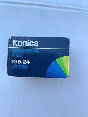 One Roll of KONICA SR 100 135-24 Color Print Film. Expired.