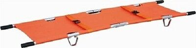 Foldaway Stretcher Emergency Aluminum Belt Ambulance HIGH QUALITY CE/FDA