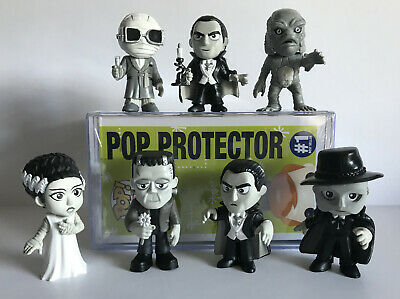 Universal Monsters, Funko, Mystery Minis, B&W, Walgreens Excl., Flower, Creature
