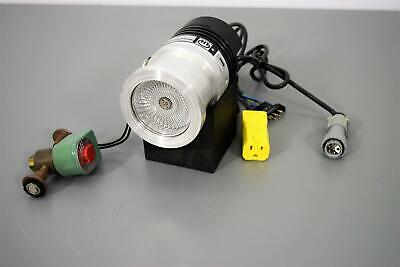 Leybold 85401 TurboVac 50 Pump w/Solenoid Valve and Power Outlet w/ Warranty