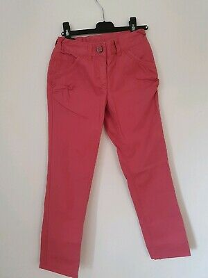 Next Pink Trousers Age 8