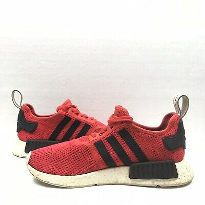 Custom Adidas NMD_R1 Nomad PK BB2885 Core Red Black Mens Size 10.5 Adidas Boost