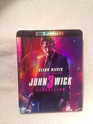 John Wick Chapter 3 Parabellum 4k + Blu Ray Brand New Sealed