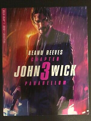 John Wick 3 (BluRay + DVD) NEW!! (No Digital) *FAST FREE SHIP*
