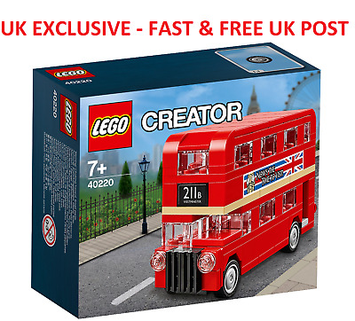 NEW LEGO CREATOR set 40220 - MINI LONDON RED DOUBLE DECKER BUS UK exclusive