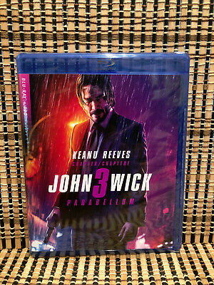 John Wick: Chapter 3 - Parabellum (2-Disc Blu-ray/DVD,2019)Keanu Reeves/Halle Be