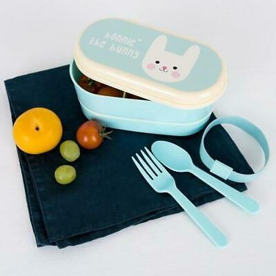NEW Rex London Small Bento Box - Bonnie the Bunny - Lunch Box