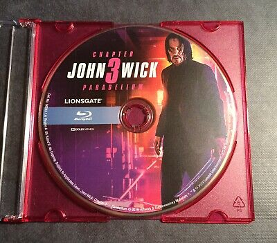 John Wick Chapter 3: Parabellum ( Blu-Ray 2019 ) DISC ONLY
