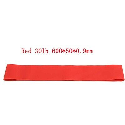 30lb Red Resistance Elastic Band Exercise Gym Latex Rubber Fitness Stretch Belt