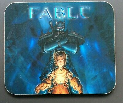 FABLE VIDEO GAME DRINK COASTER Very Good Condition RARE