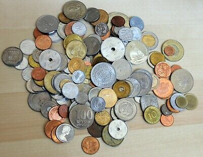 BU 175 Diff WORLD COINS from 70 diff COUNTRIES * WOW