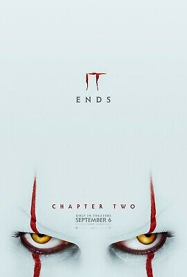 IT Chapter Two 2 Movie Poster - 2019 Pennywise - NEW - 11x17 13x19