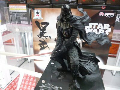Star Wars DARTH VADER Gallery black samurai figure BANPRESTO JAPAN