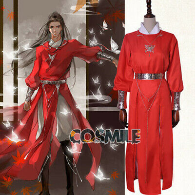 Tian Guan Ci Fu 天官赐福 Hua cheng 花城 Cosplay Costume Clothing Accessories Sa