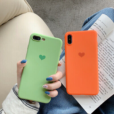 For Apple iPhone 11 11 Pro X XS 6 Slim Soft Silicone TPU Frosted Back Case Cover
