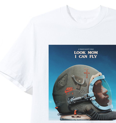 TRAVIS SCOTT LOOK MOM I CAN FLY T-SHIRT tour concert merch supreme astroworld