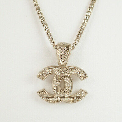 CHANEL Necklace Chain me Gold CC COCO Mark authentic