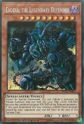 Exodia, the Legendary Defender - TN19-EN003 - Prismatic Secret Rare NM