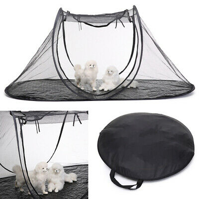 Foldable Portable Pet Mosquito Tent Outdoor Beach Dog Cat Animal Playpen Kennel