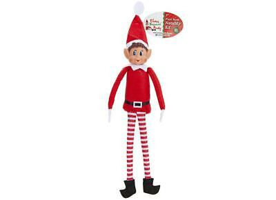 """12"""" Long Leg Soft Body Red Elf Props On The Shelf Ideas Toy Christmas Decoration"""
