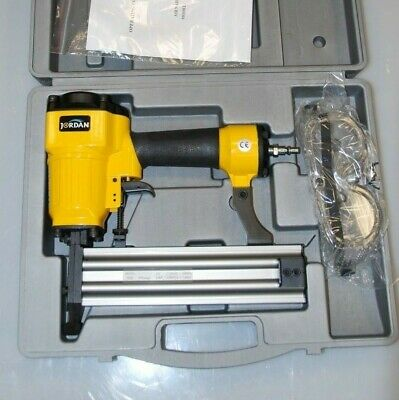 Jordan 1650 16 Gauge Brad Nailer 20 - 50 mm Nail Gun Air Tool in Case