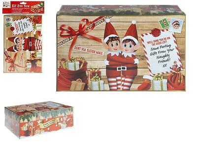 Mini Size 'Elf' Xmas Eve Box Props On The Shelf Ideas Toy Christmas