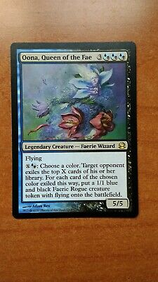 1 x MTG Oona Queen of the Fae Modern Masters Light Play English