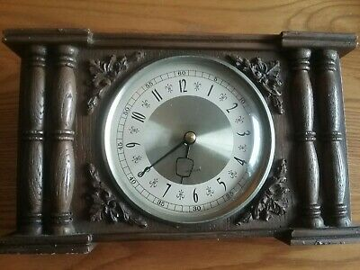 Authentic Vintage Circ 1930s (Est) Wind Up Clock. Perfect Time Heavy