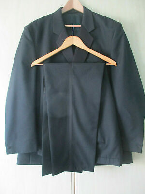 "mens SKOPES BLACK WOOLMARK EVENING TUXEDO SIZE 48""R CHEST - 42"" WAIST - 29"" LEG"